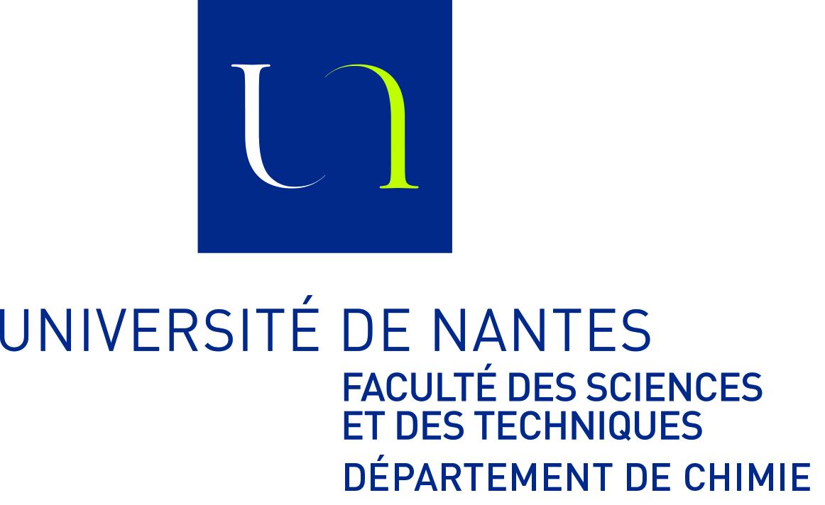 Département de chimie- Université de Nantes